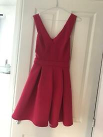 Ladies pink Warehouse Dress brand new size 8