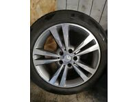 """Mercedes alloy wheels 17"""""""