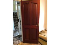 Internal harwood doors