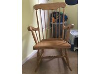 FREE wooden rocking chair