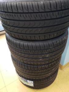BRAND NEW SUMMER TIRES MADE IN INDONESIA ! HIGHEST TREAD WEAR FOR ITS CATEGORY! , MOST SIZES AVAILABLE 438 763-2808