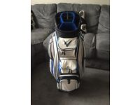 Callaway cart bag blue and white