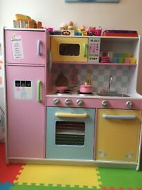 Pretend Role Play Child's Kitchen- Wooden