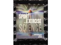 Sport exercise and Science book