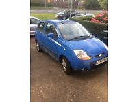 Chevrolet matiz 1.0 blue