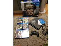 Ps4 500g with 6 games