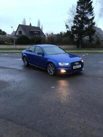 Audi A4 black edition ONLY 16000miles 65plate!!