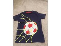 Mini Boden boys T shirt age 4-5yrs