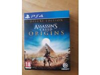 Assassins Creed Origins Deluxe Edition PS4(used)