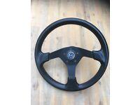 Sport steering wheel - Golf Mk1 Mk 2 / Jetta Mk1 Mk2