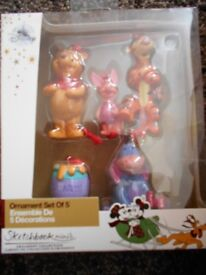 Winnie the Pooh and Friends Disney hanging ornaments,