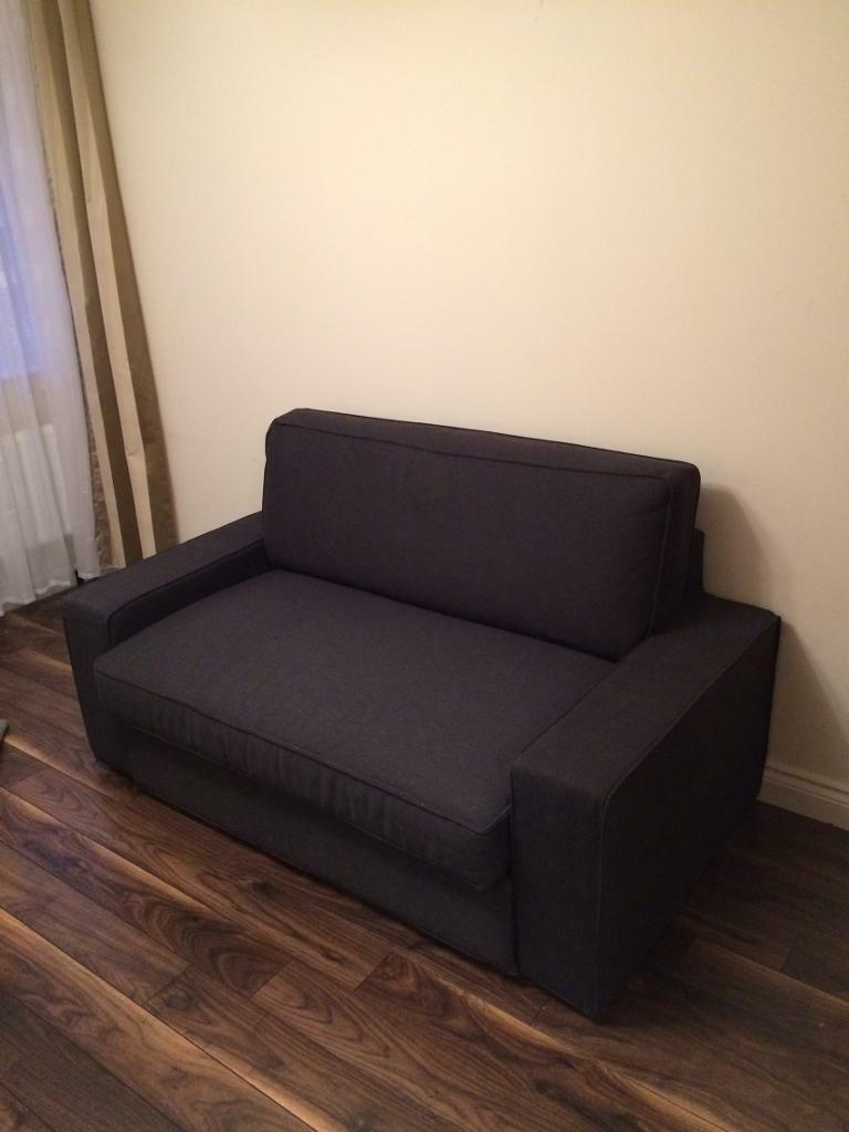 two seat sofa bed ikea vilasund in maidstone kent gumtree. Black Bedroom Furniture Sets. Home Design Ideas