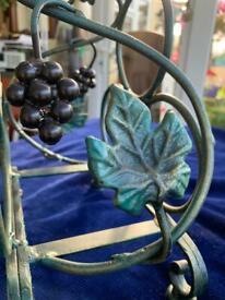 VINE TREE METAL WINE RACK FOR TABLE DINING ROOM KITCHEN
