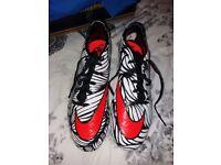 nike hypervenom alegria football boots size 10
