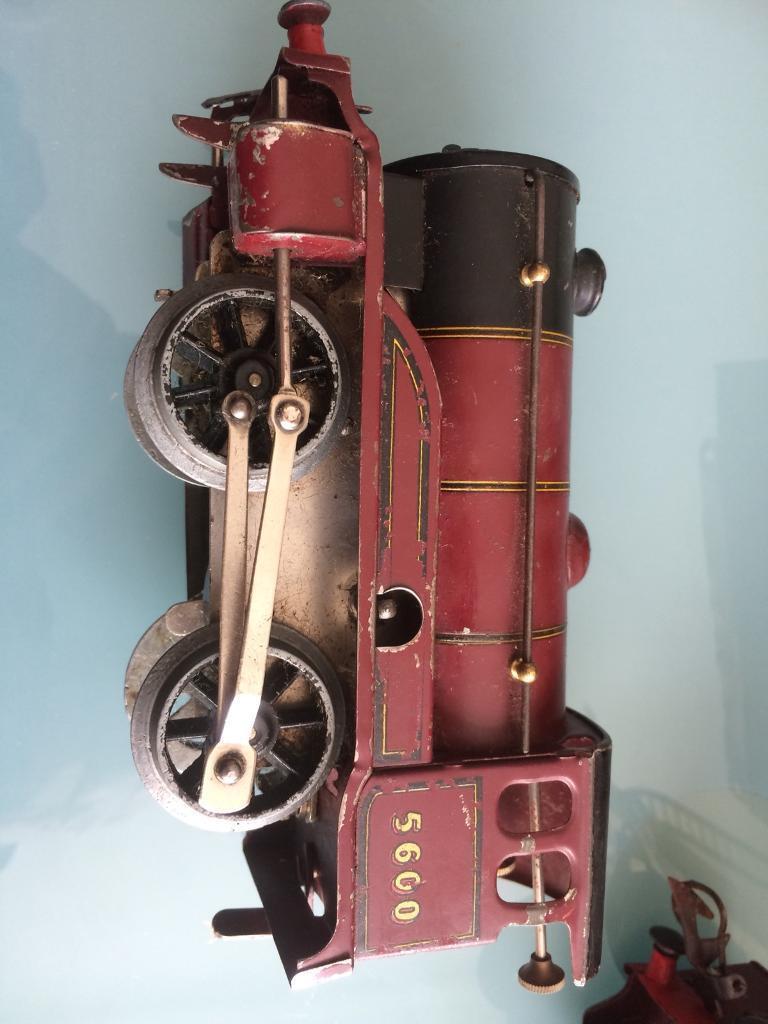 Hornby vintage train clockwork
