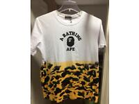Men's Bape T-shirt size large