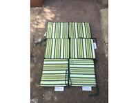 Garden chair cushions