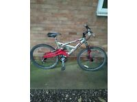 Mountain bike for sale edge barracuda very good condition