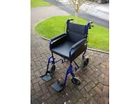 Light Weight Collapsible Wheel Chair