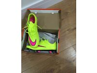 Nike Mercurial men's football boots size 9 sg