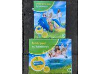 Kids Paddling Pool & Water Slide
