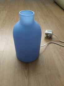 Blue Ikea lamp in perfect condition