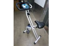 folding exercise bike. Davina brand.
