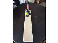 Powerful Cricket Bat 11 Grains 2.7 Pound 42mm EDGE TOP ENGLISH Willow Oval Handl