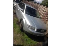 AUDI A4 MK2 BREAKING - WING/BUMPERS/BONNETS/DOORS/ENGINE 1.9 TDI CAN DELIVER PARTS
