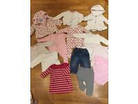 Gorgeous baby girl bundle age 6-9 months incl. Next, Gap, Jasper Conran, Mothercare