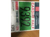 Cardiff Half Marathon Entry