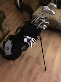 Full Set of Prodrive Golf Clubs, Bag, Glove & Balls