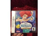 The little mermaid Game- Nintendo DS