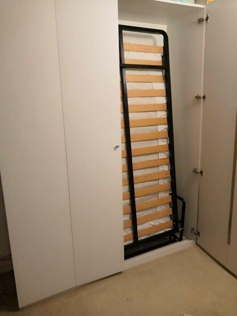 Wall Bed Murphy Pull Out Foldaway Hidden 5 Feet King Size 200cmx150cm Rrp 1058 In Lambeth London Gumtree