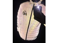 Kings will dream reflective puffer jacket