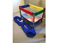 Graco Pack N Play Compact Travel Cot & Play Pen RRP £67.99