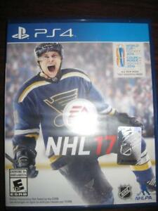 NHL 17 for Playstation PS4 Game System. Hockey World Cup. Build Dream Arena. Franchise Mode. Multi Player. Trainer