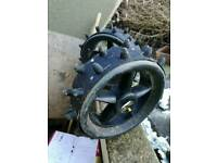 Powakaddy winter golf wheels