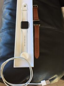 Apple Watch 38mm series one with spare strap and Argos receipt as new condition