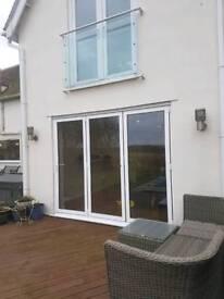 Aluminium Bi Folding doors £750