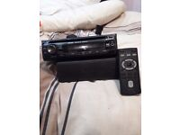 SONY CAR RADIO BLUETOOTH MP3 REMOTE CONTROL WITH CASE FOR REMOVABLE FRONT AND ALL CONNECTORS