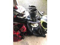 Various Motocross gear selling Cheap