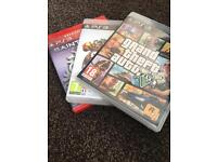 Gta 5. Saints row 3. Sky landers. PS3 games