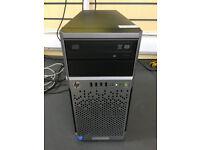 HP ProLiant DL310e Gen8 v2 SERVER, Intel Xeon, 16GB, 3TB, Server 2012 R2 Essentials