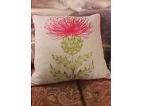 Voyage thistle cushion