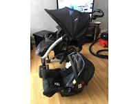 Pushchair and car seat for quick sale £50 only