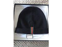 Gucci black beanie hat