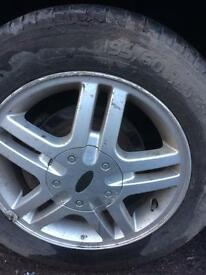 Focus alloy wheels and wheels 195x6015