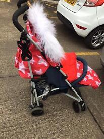 My babiie star stroller