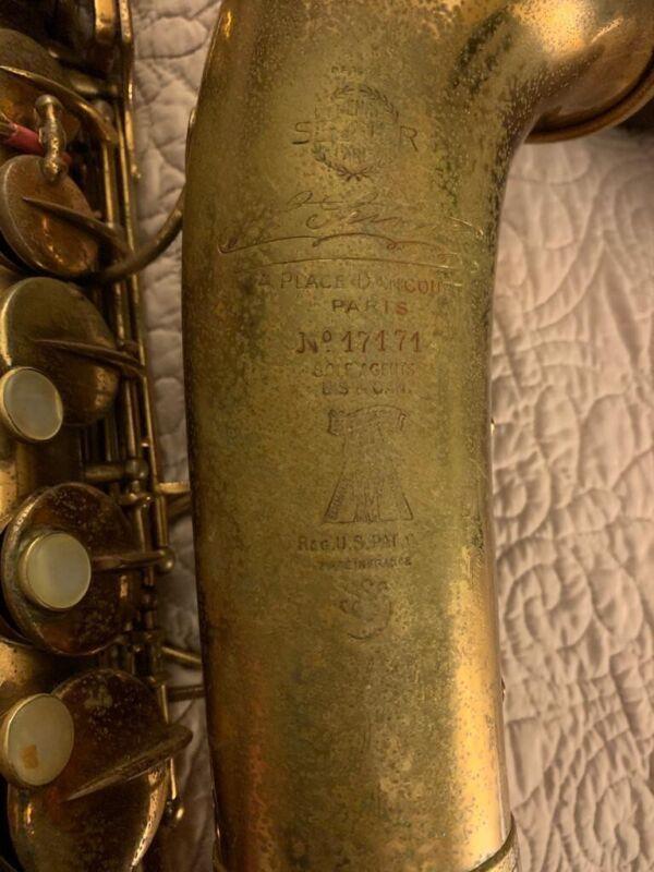 selmer paris alto saxophone Vintage 1933